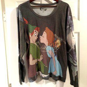 Peter Pan & Wendy Long Sleeve Top
